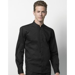 Bargear™ Shirt Mandarin Collar LS