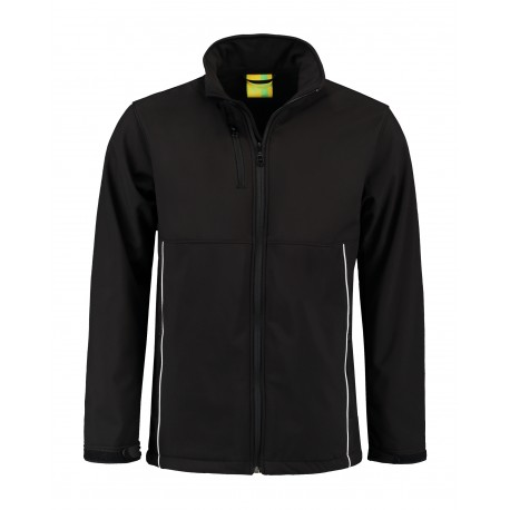 Jacket Softshell for him Zwart